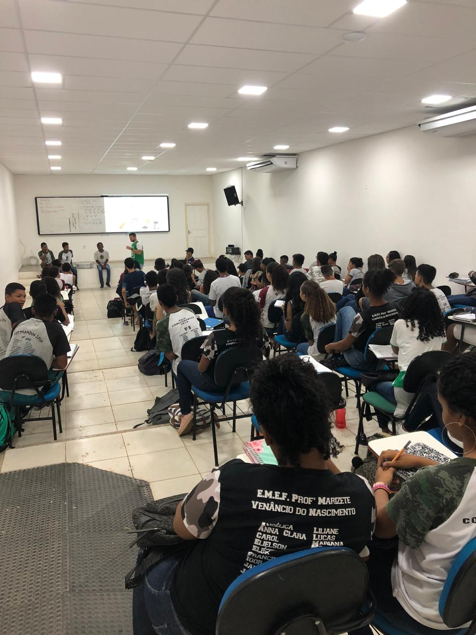 SECRETARIA DE EDUCAÇÃO REALIZA AULÃO PREPARATÓRIO PARA A PROVA DO IFES