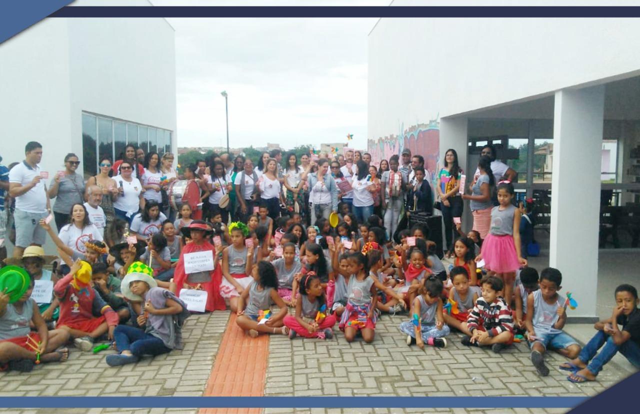 PASSEATA NO BAIRRO AYRTON SENNA ALERTA CONTRA TRABALHO INFANTIL