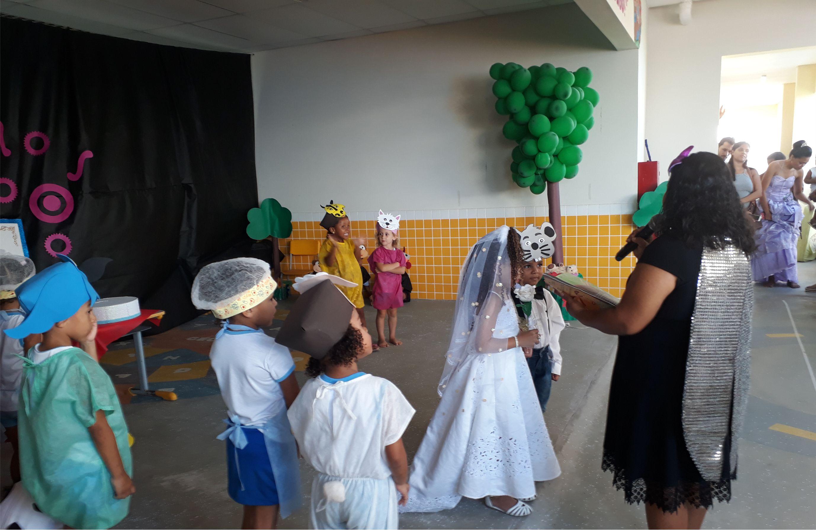 Educação: CEIM Santo Antônio Realiza Mostra Literária