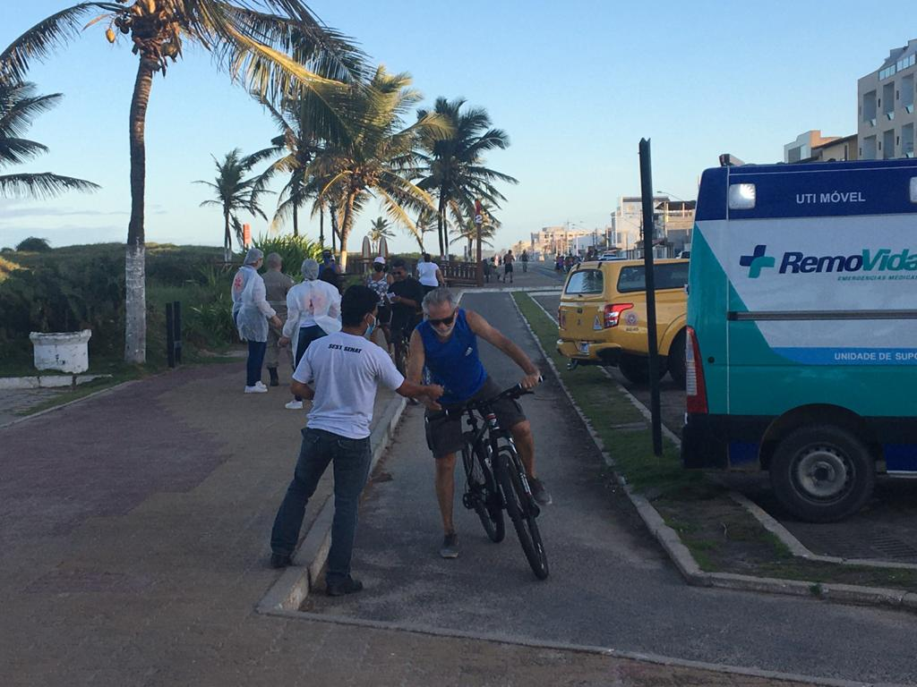 PREFEITURA DE SÃO MATEUS PROMOVE AÇÃO DE CONSCIENTIZAÇÃO CONTRA O CORONAVÍIRUS EM GURIRI