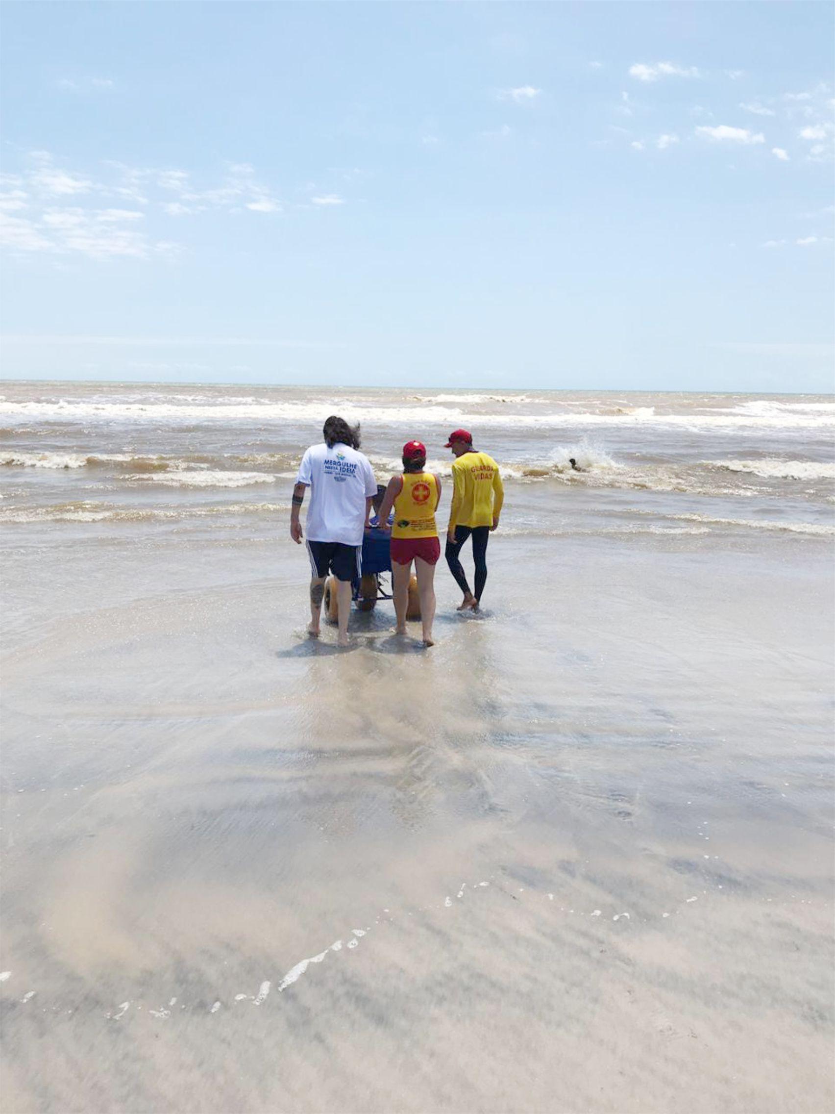 Praia Acessível inicia programação de verão