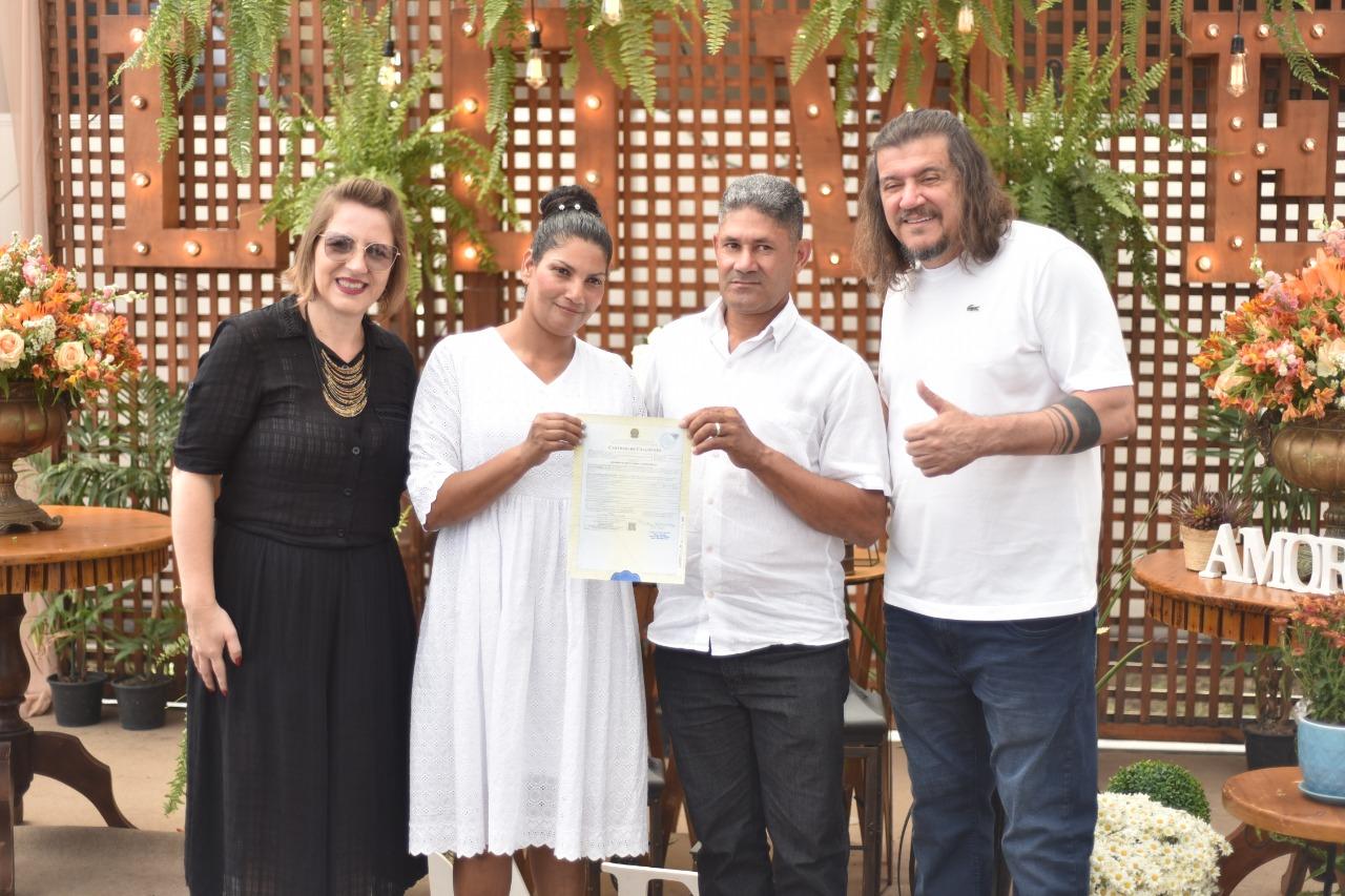 DUZENTOS CASAIS PARTICIPAM DO CASAMENTO COMUNITÁRIO NA EXPOSAMA 2019