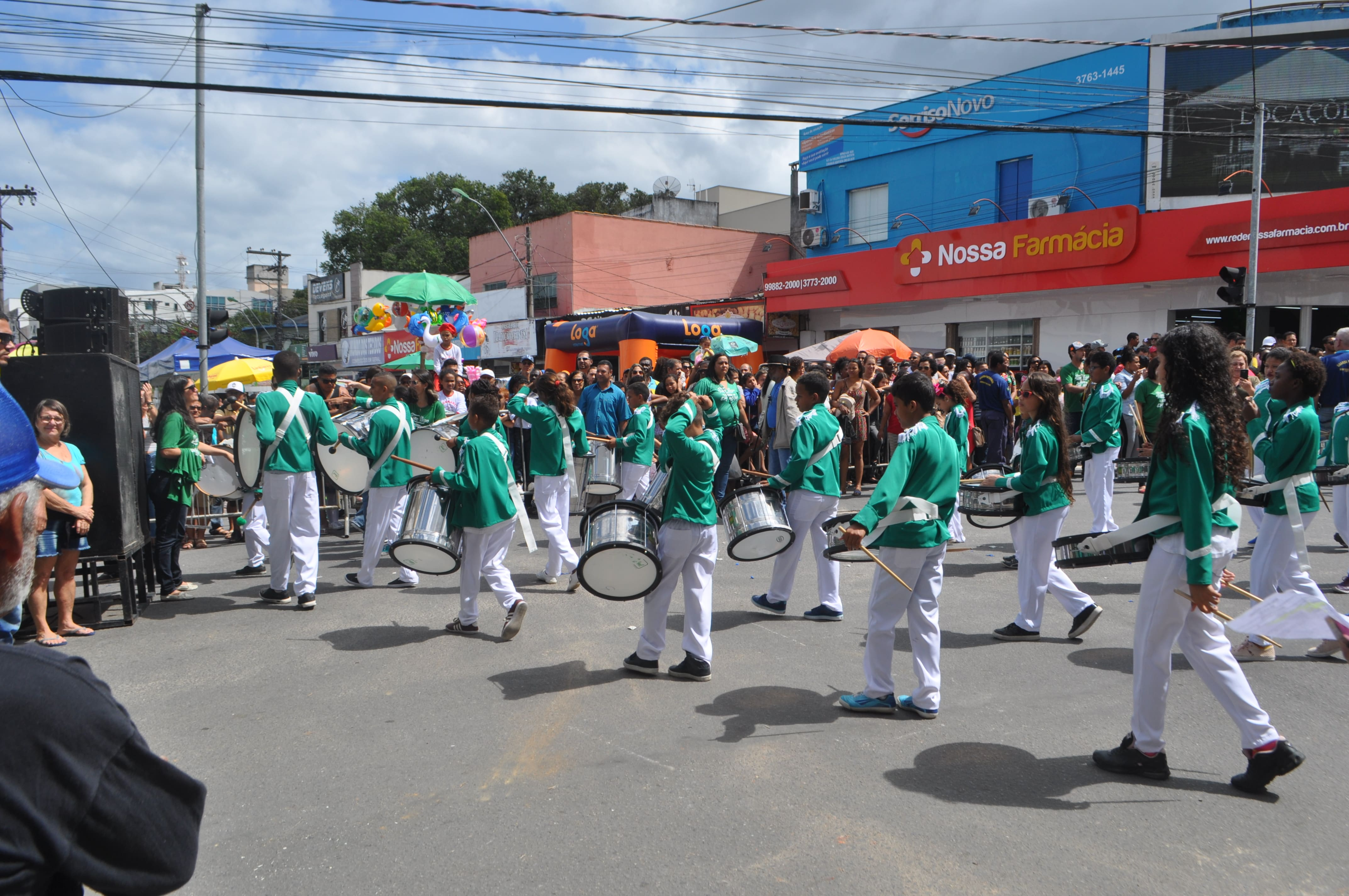 Desfile Cívico de São Mateus - Parte 1