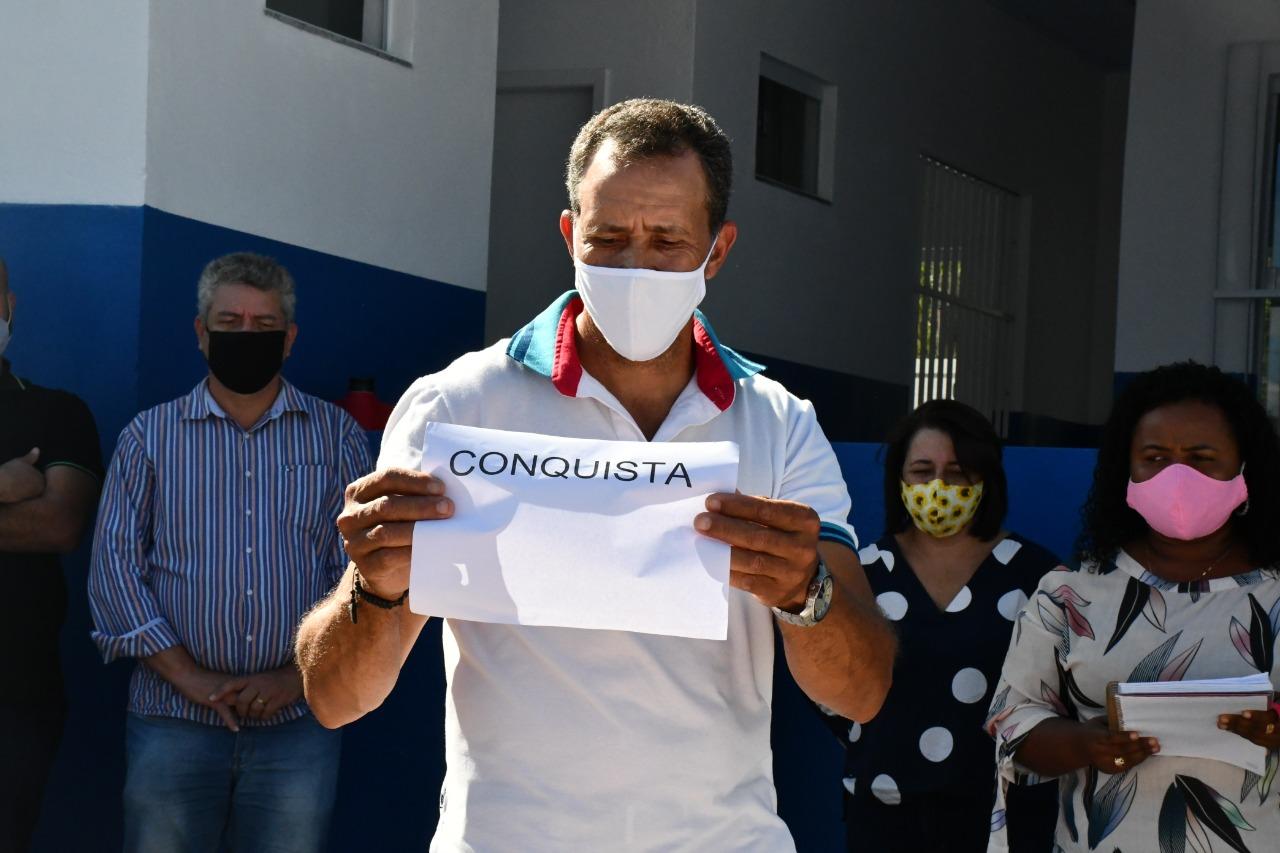 ESCOLA CÓRREGO DA AREIA ATENDERÁ CERCA DE 50 ALUNOS COM MAIS CONFORTO E QUALIDADE
