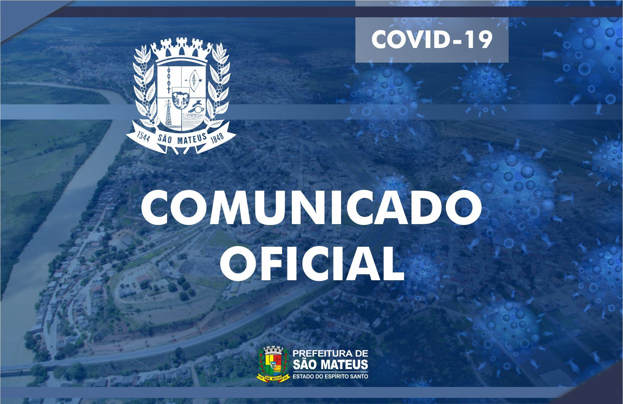 CONFIRMADA PRIMEIRA MORTE POR CORONAVÍRUS EM SÃO MATEUS