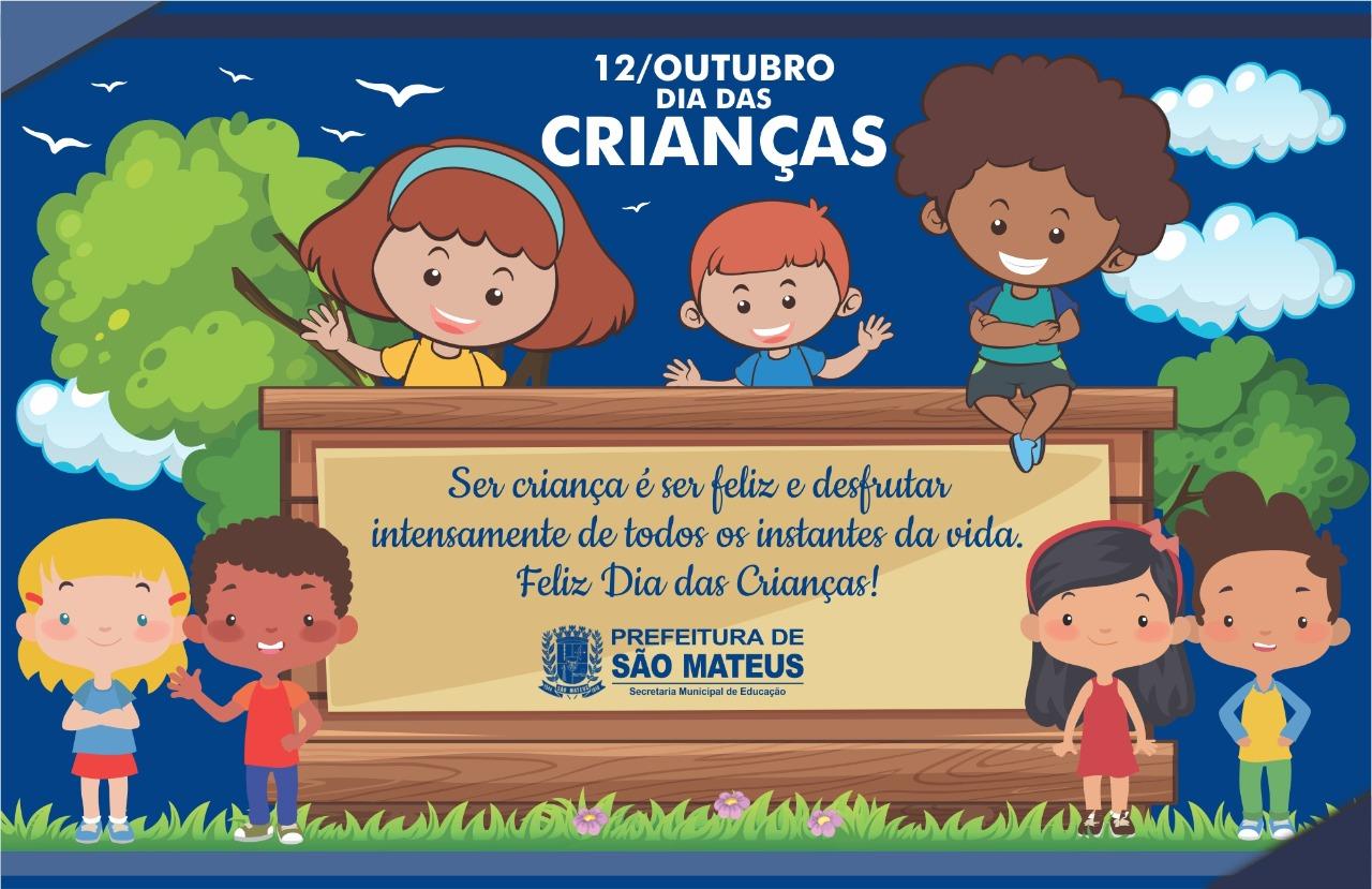 12 DE OUTUBRO - DIA DAS CRIANÇAS