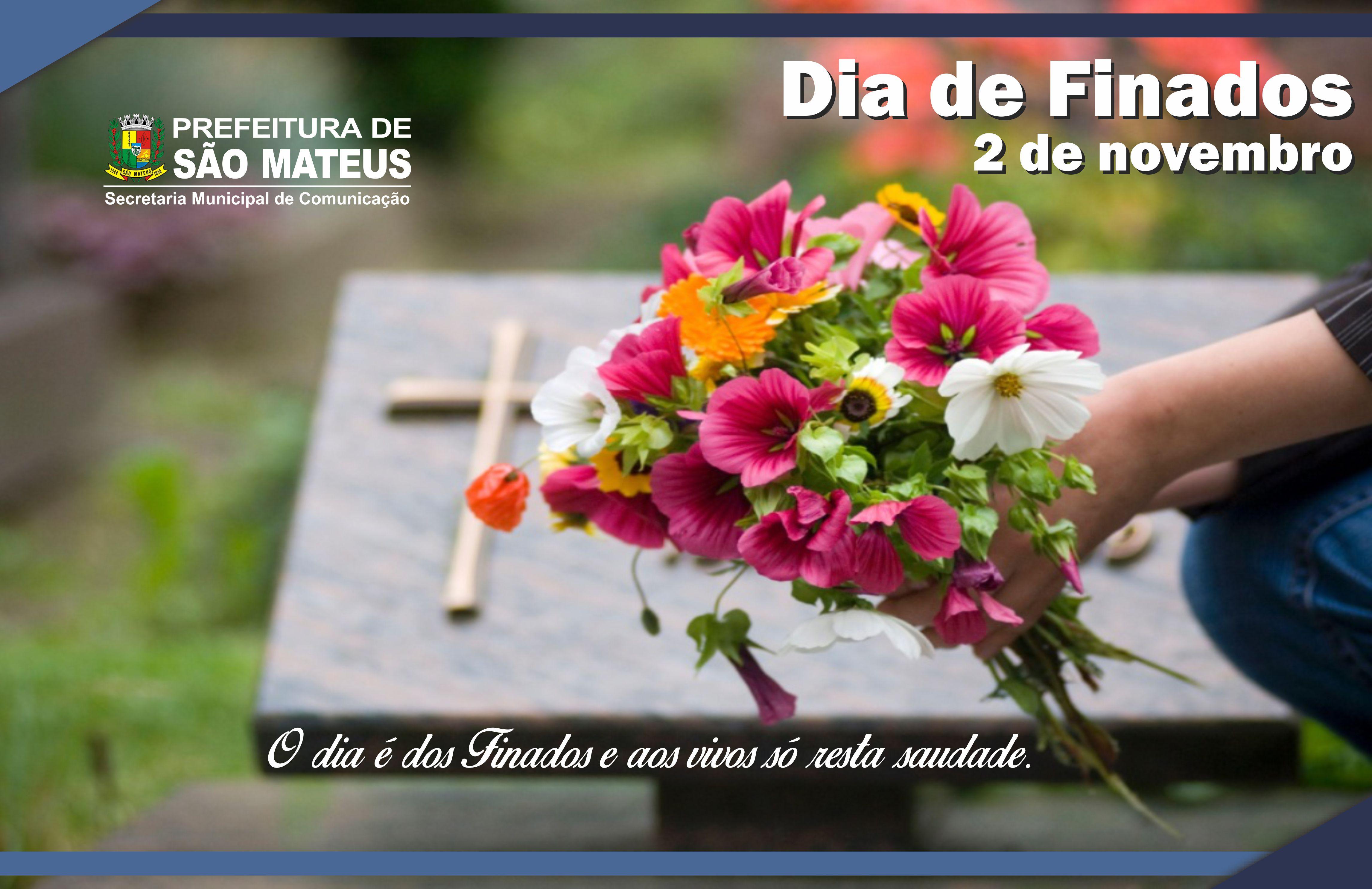 Cemitérios de São Mateus devem receber 20 mil pessoas no Dia de Finados