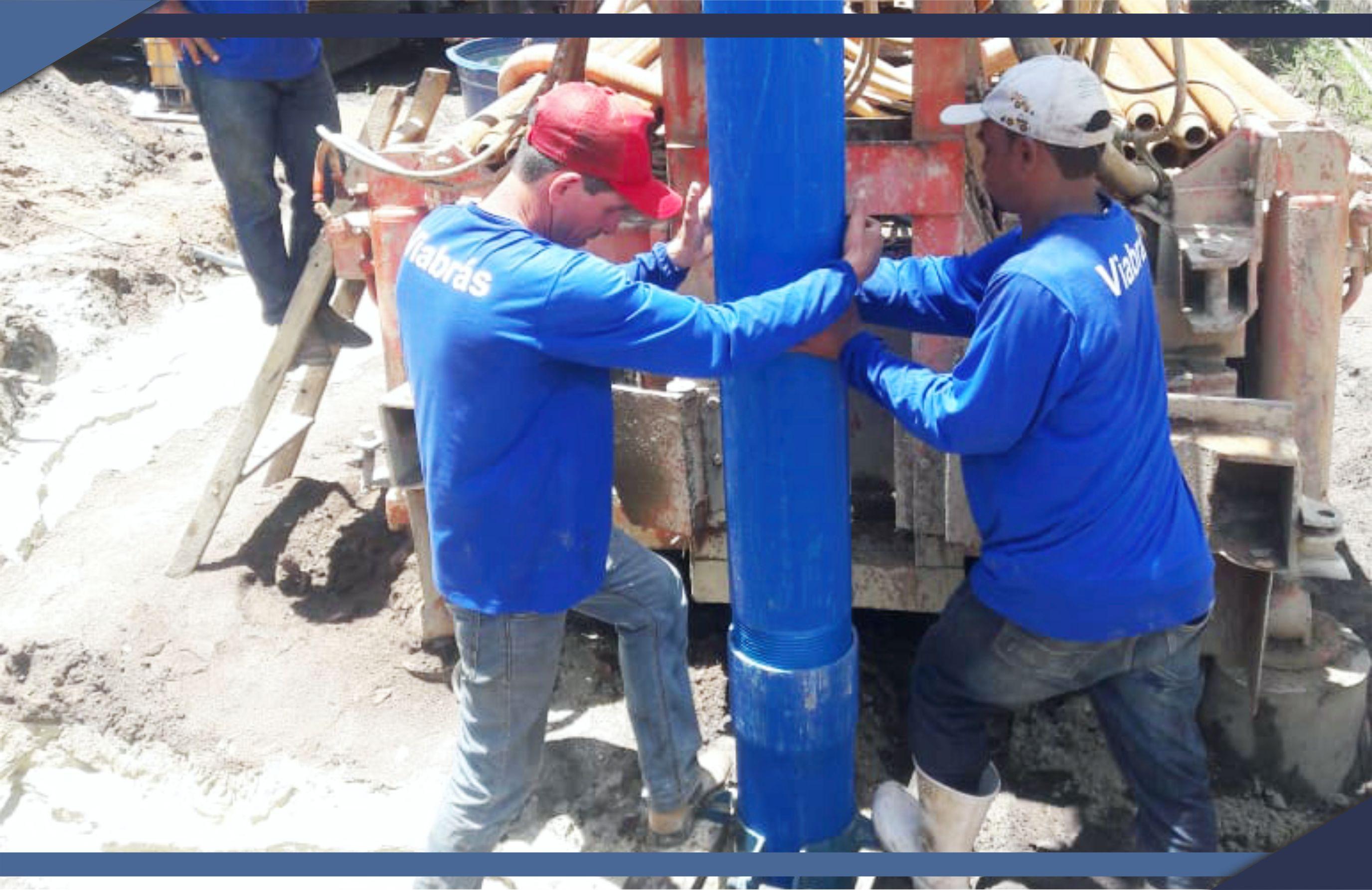 PMSM perfura poço em Itauninhas