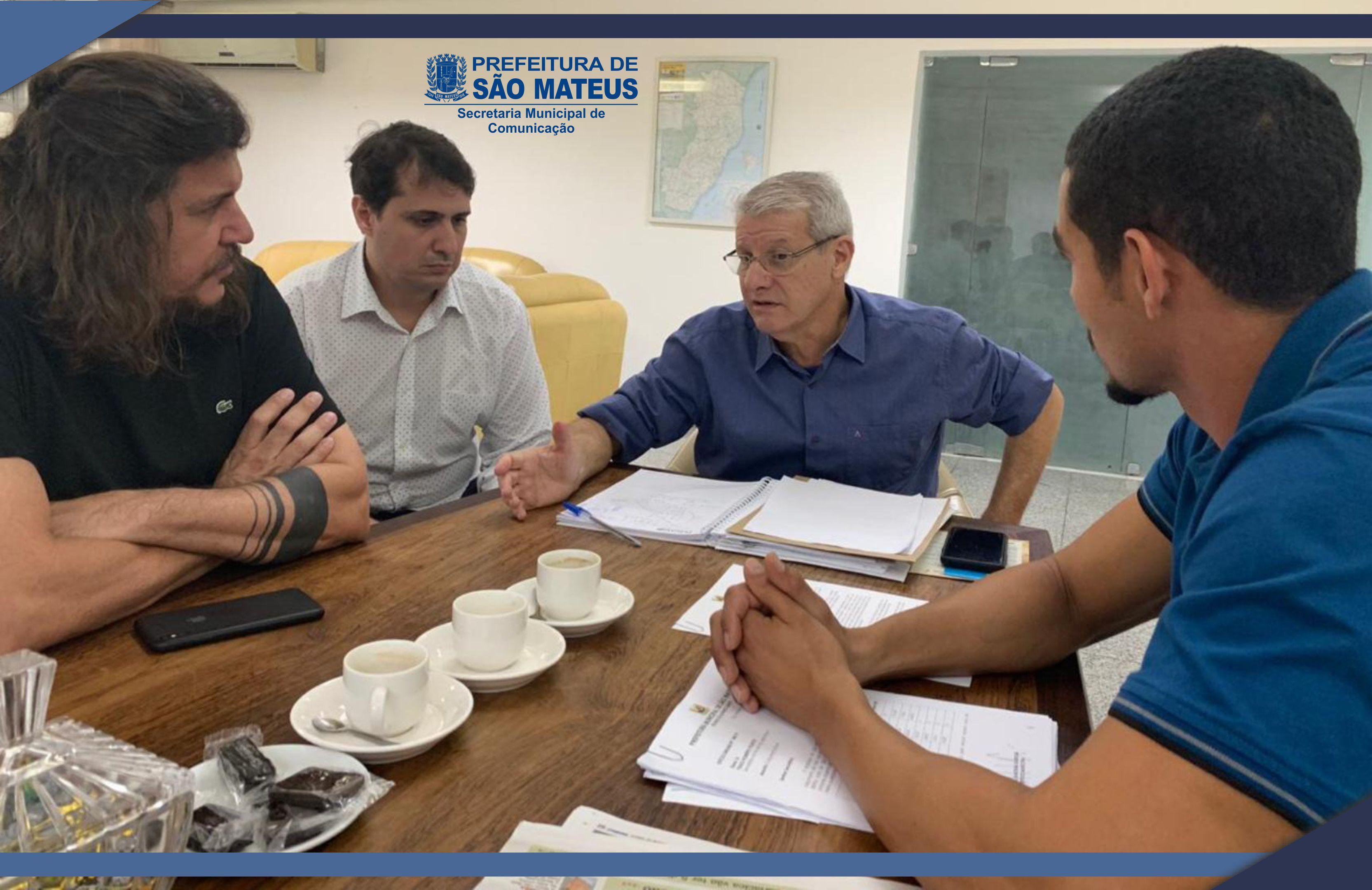 PREFEITO DANIEL LEVA REIVINDICAÇÕES À SECRETARIA ESTADUAL DE AGRICULTURA