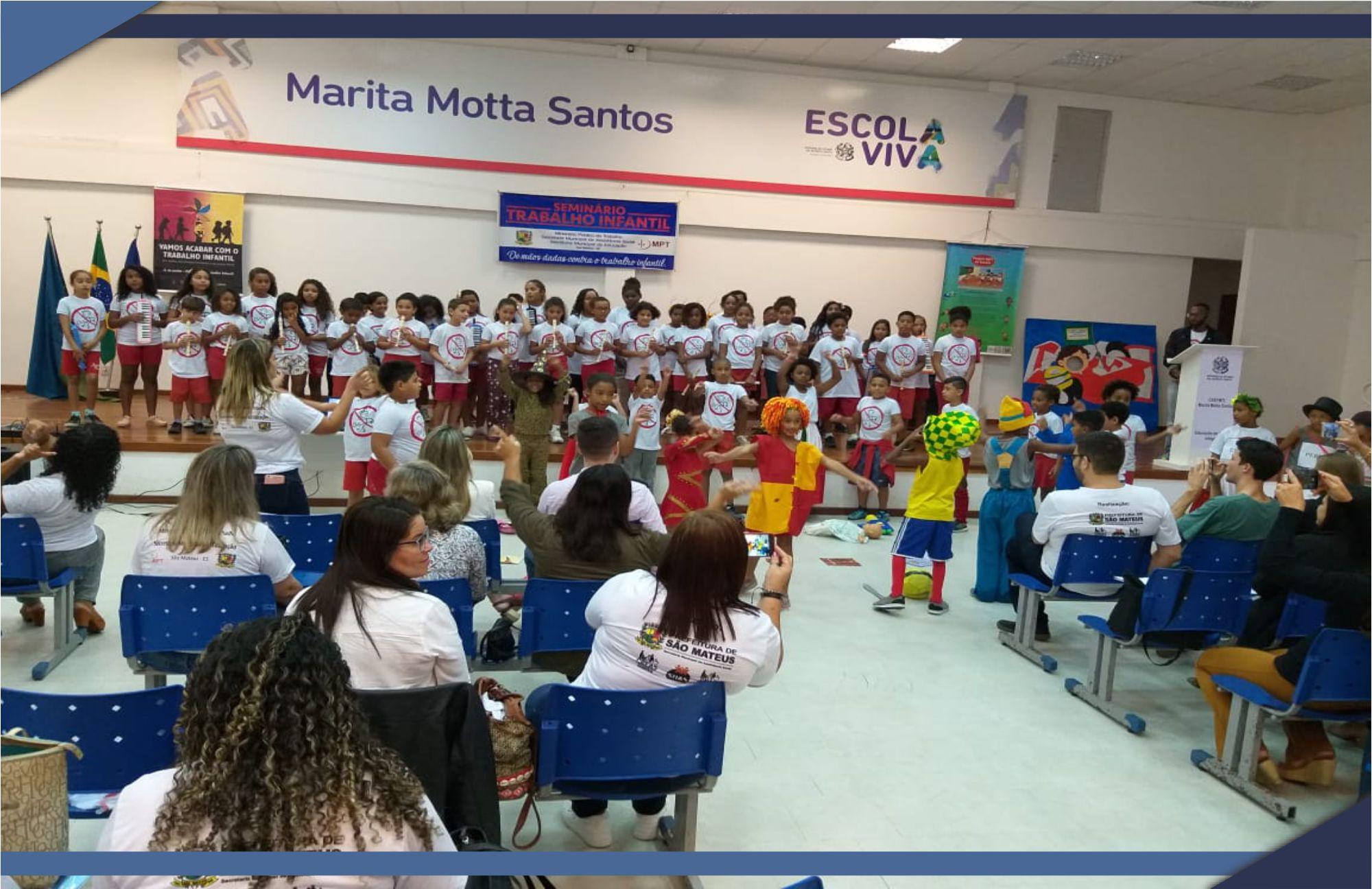 UNIDADES EDUCACIONAIS DE SÃO MATEUS RECEBEM EQUIPAMENTOS DO PROJETO MPT NA ESCOLA