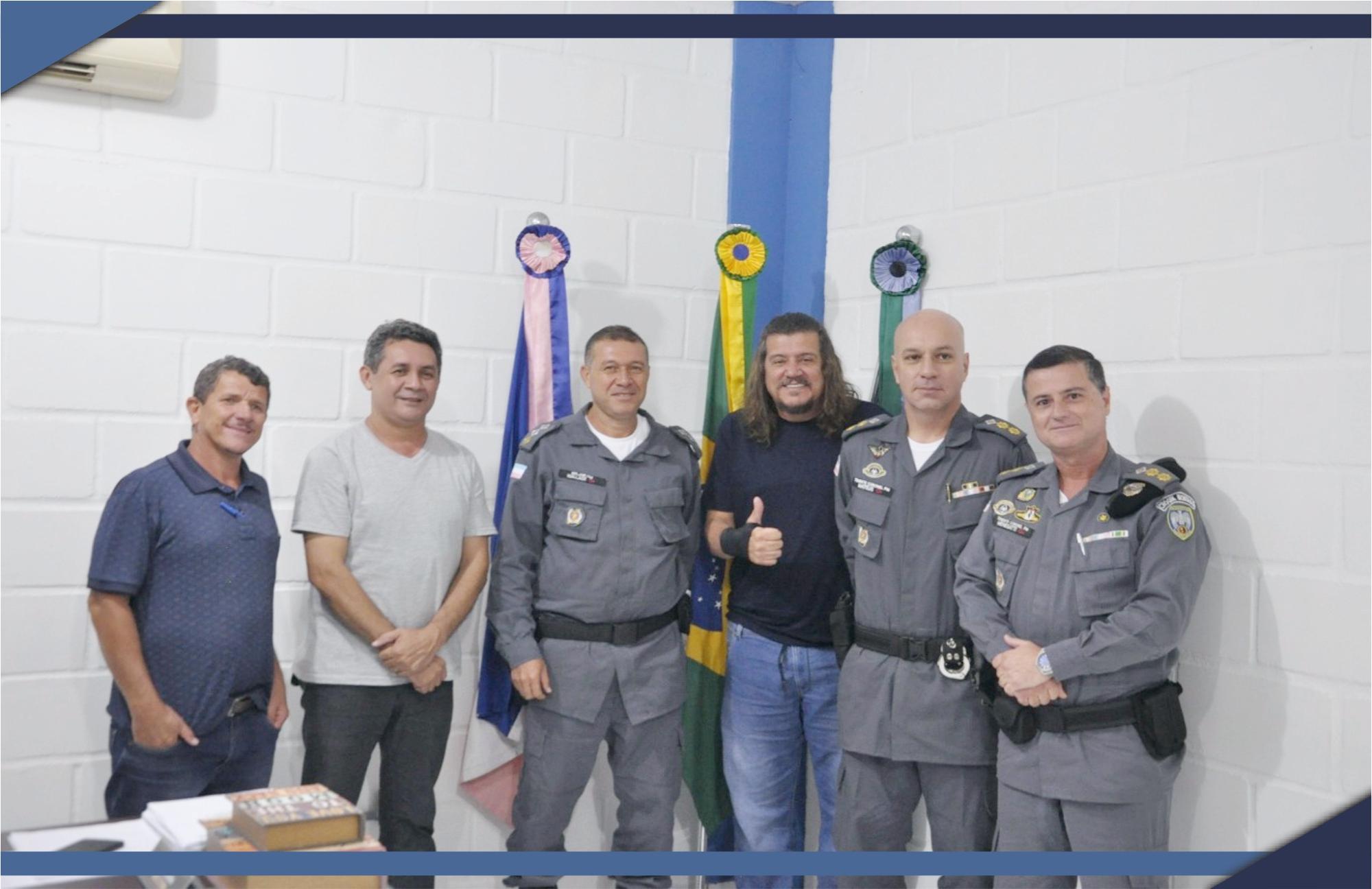 POLÍCIA MILITAR TROCA COMANDO DO 13º BATALHÃO
