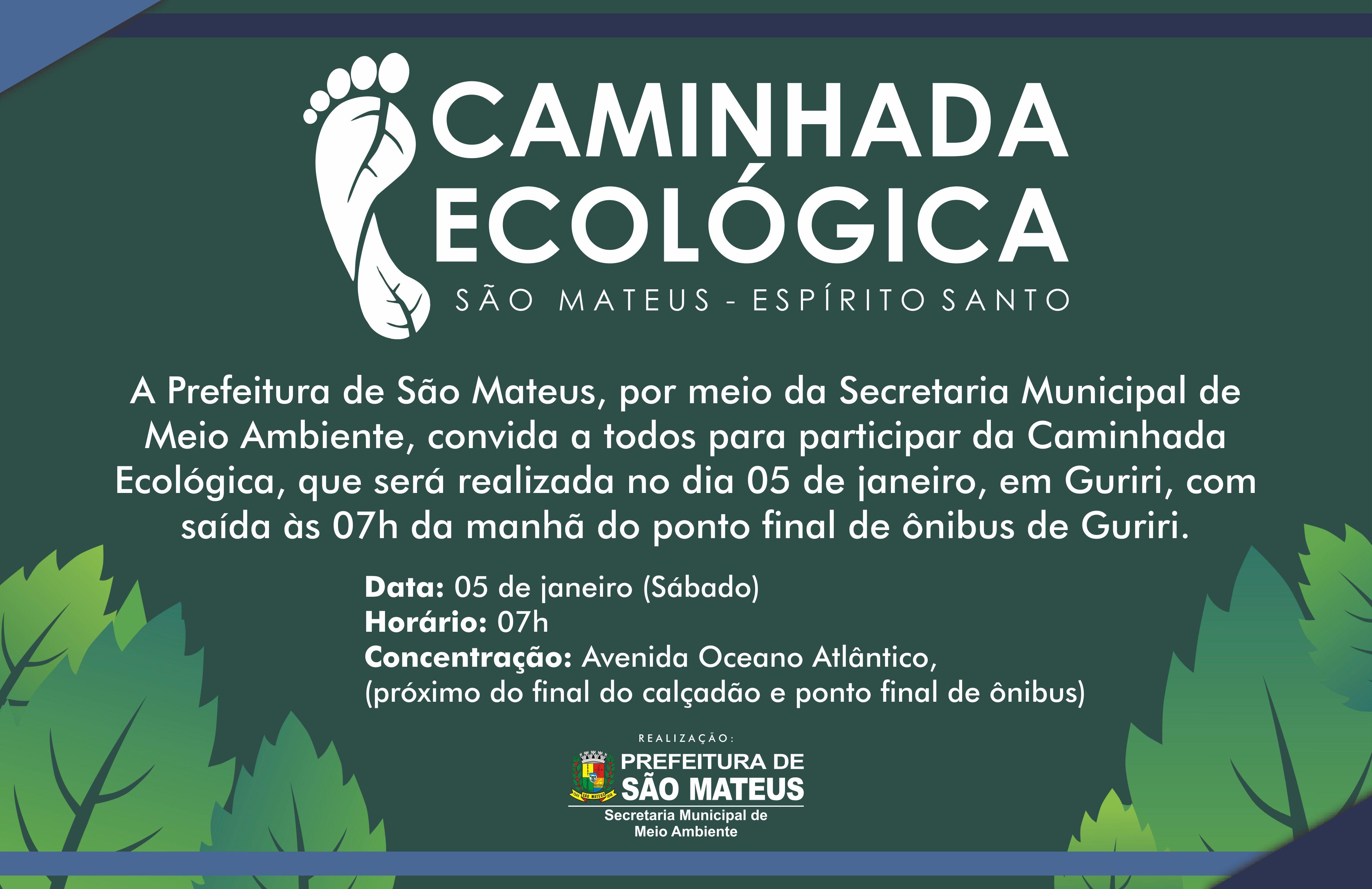 PMSM fará Caminhada Ecológica em Guriri