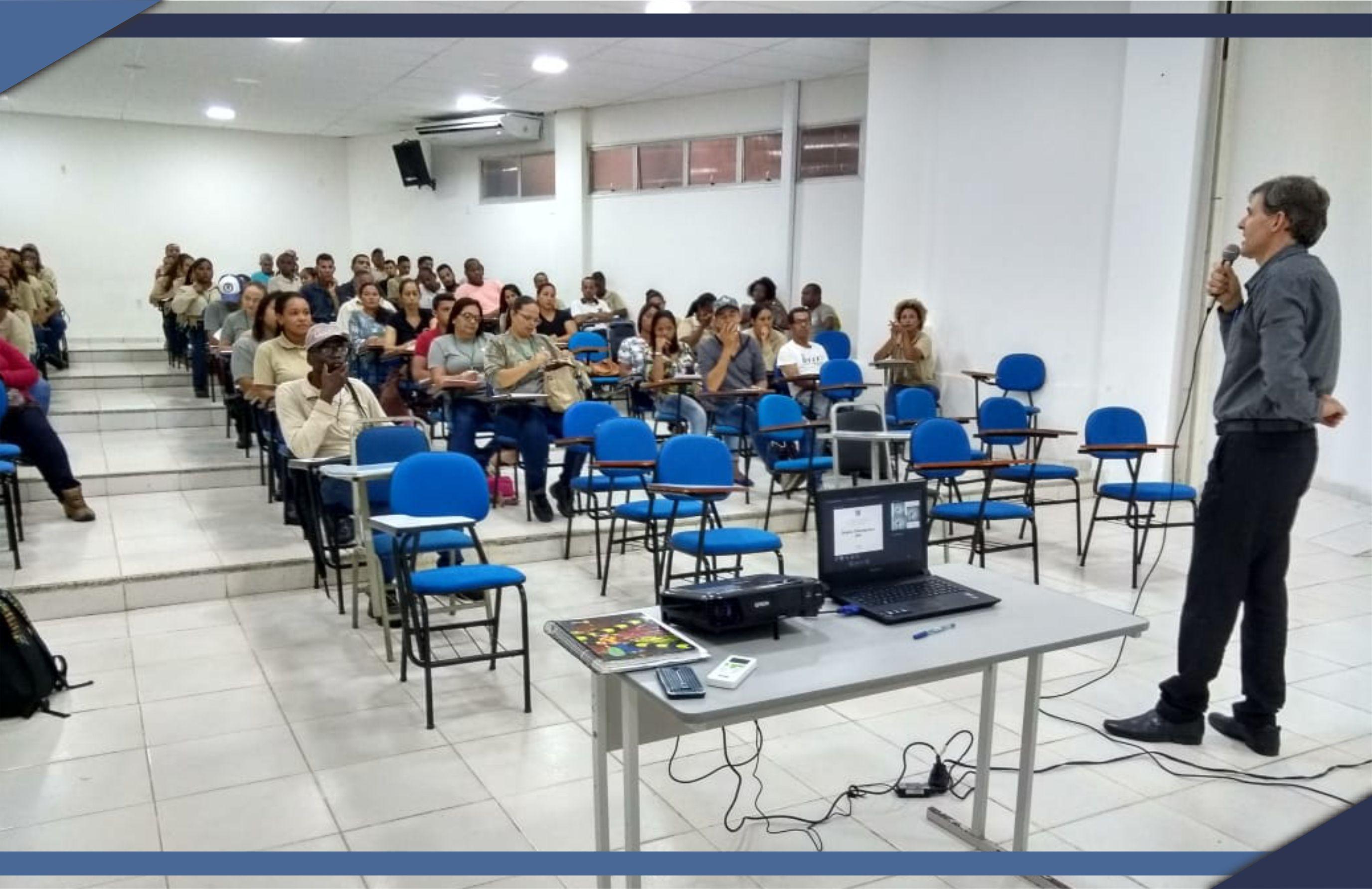 Agentes de Controle de Endemias participam de capacitação em São Mateus
