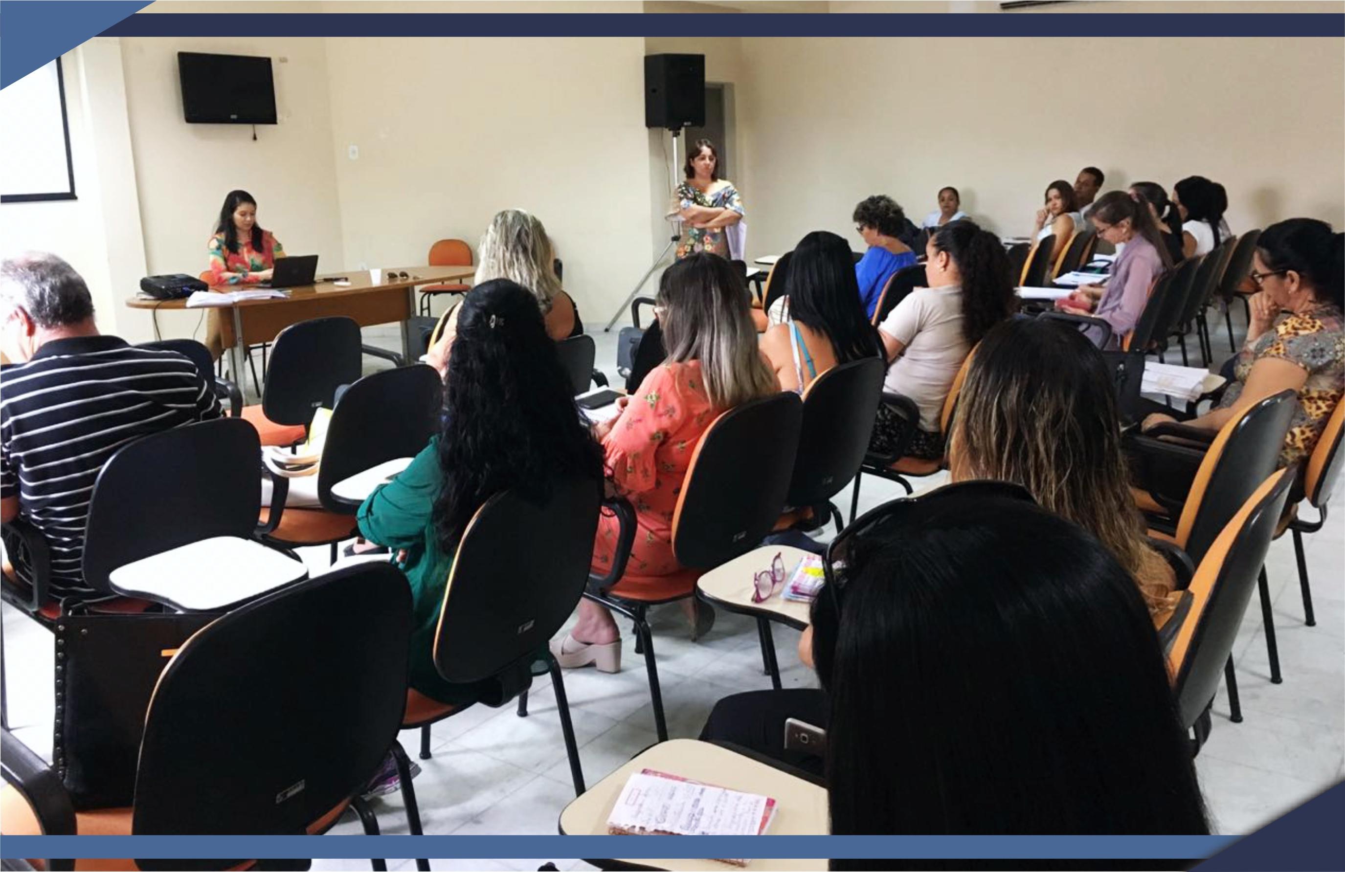 Prefeitura realiza reunião com diretores de Escolas Municipais