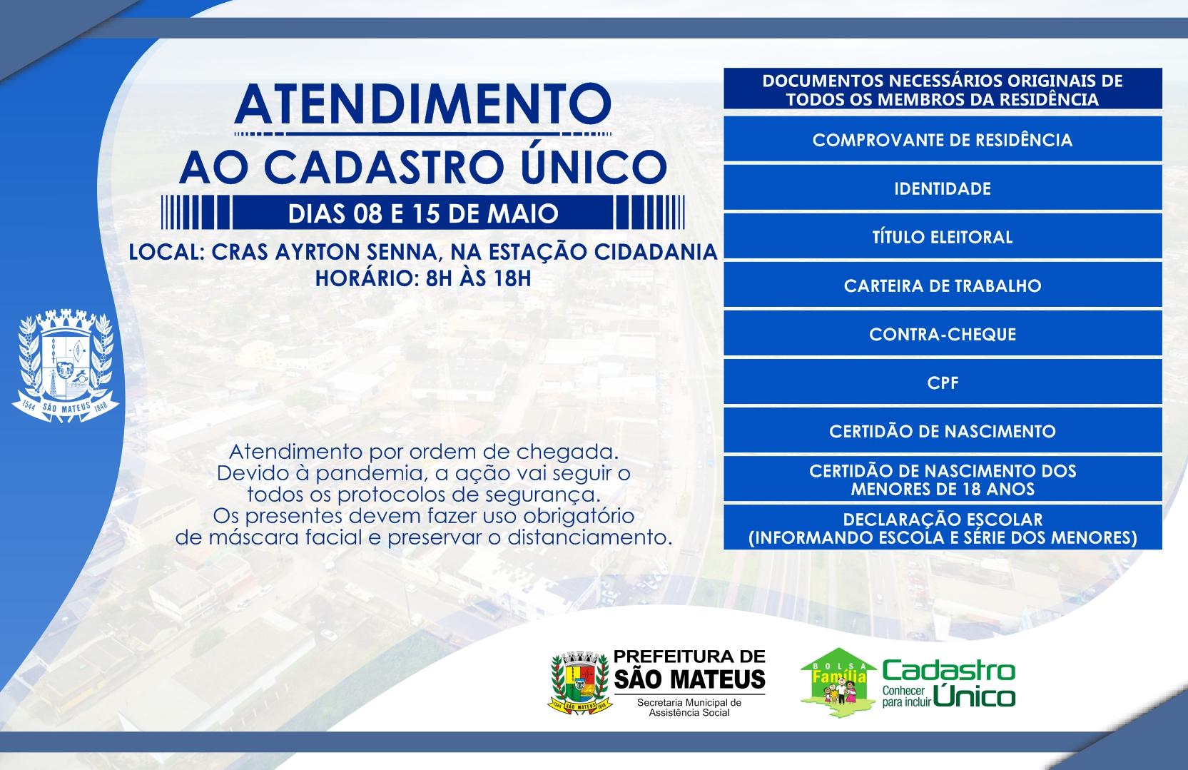 ASSISTÊNCIA SOCIAL REALIZA MUTIRÃO DE ATENDIMENTO PARA CADASTRO ÚNICO