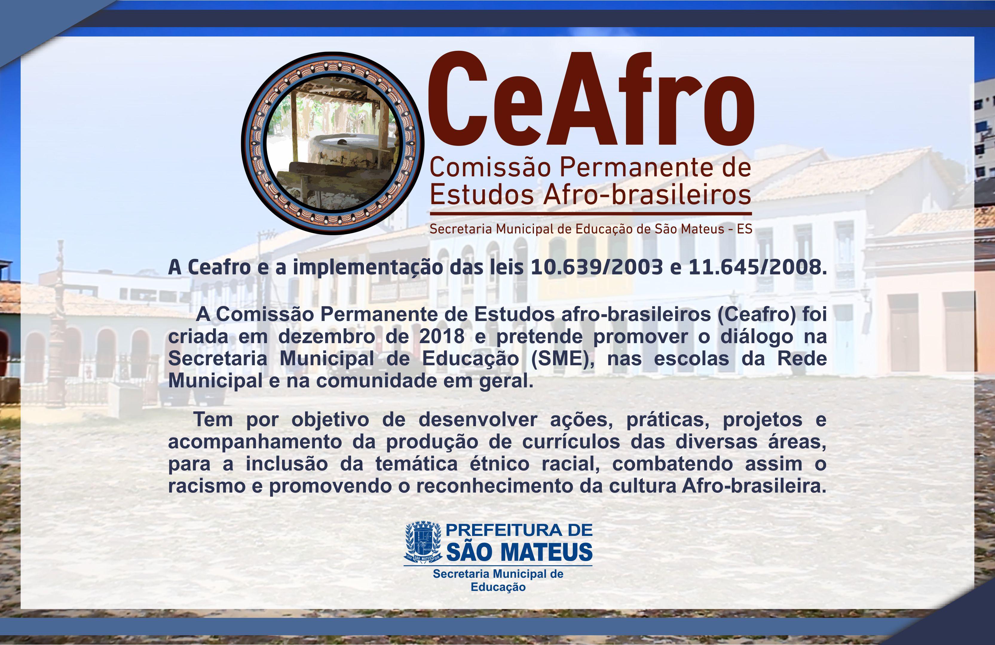 EDUCAÇÃO POSSUI COMISSÃO DE ESTUDOS AFRO-BRASILEIROS