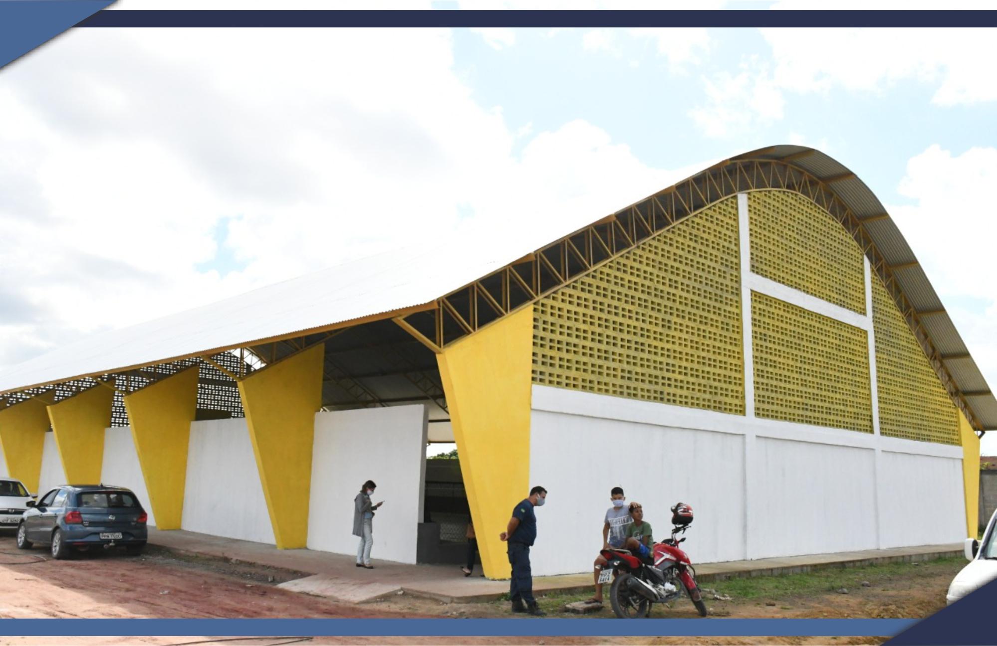 INAUGURAÇÃO DO GINÁSIO DO KM 35