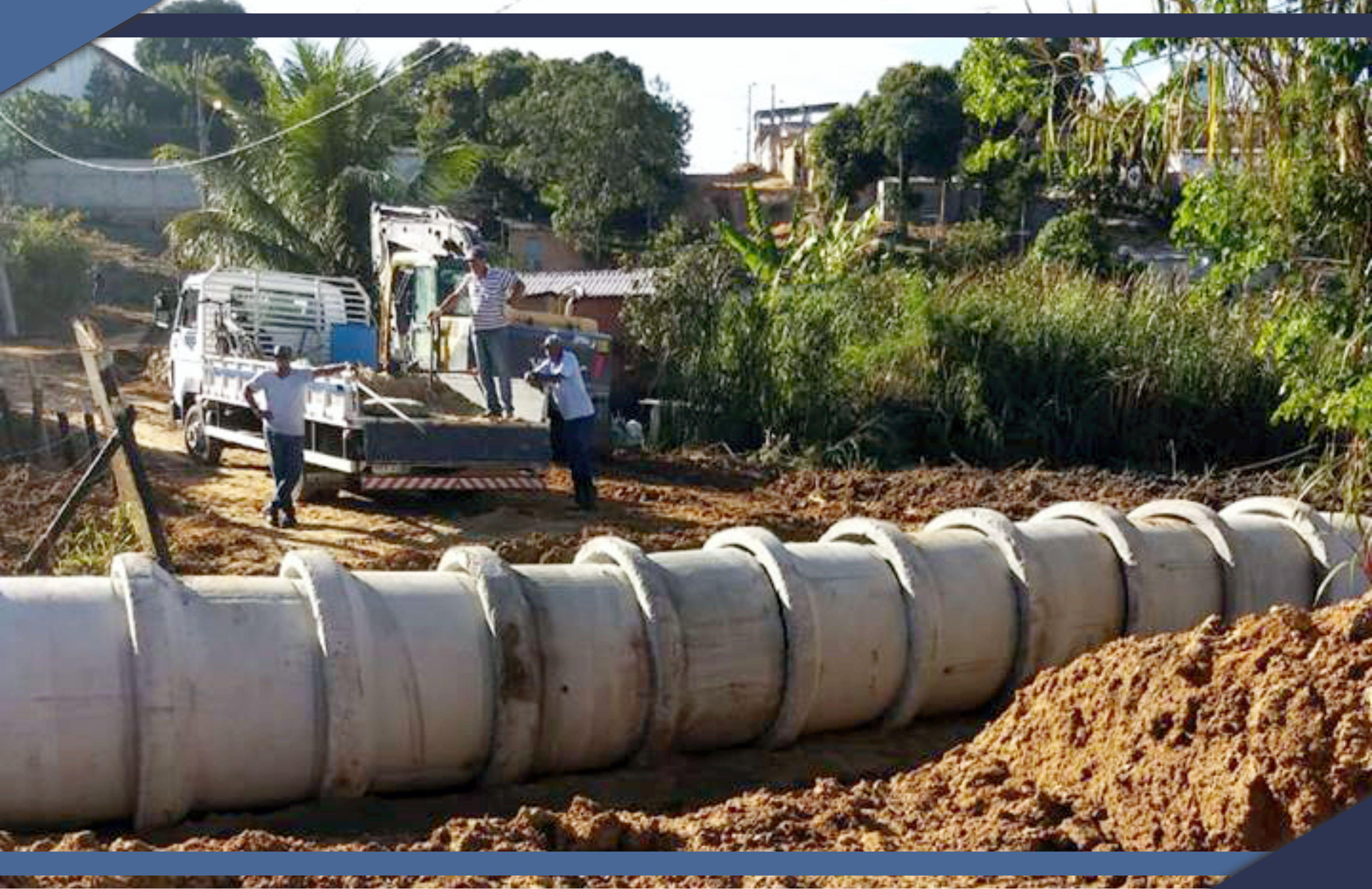 Obras de Infraestrutura nos bairros Bom Sucesso II e Colina