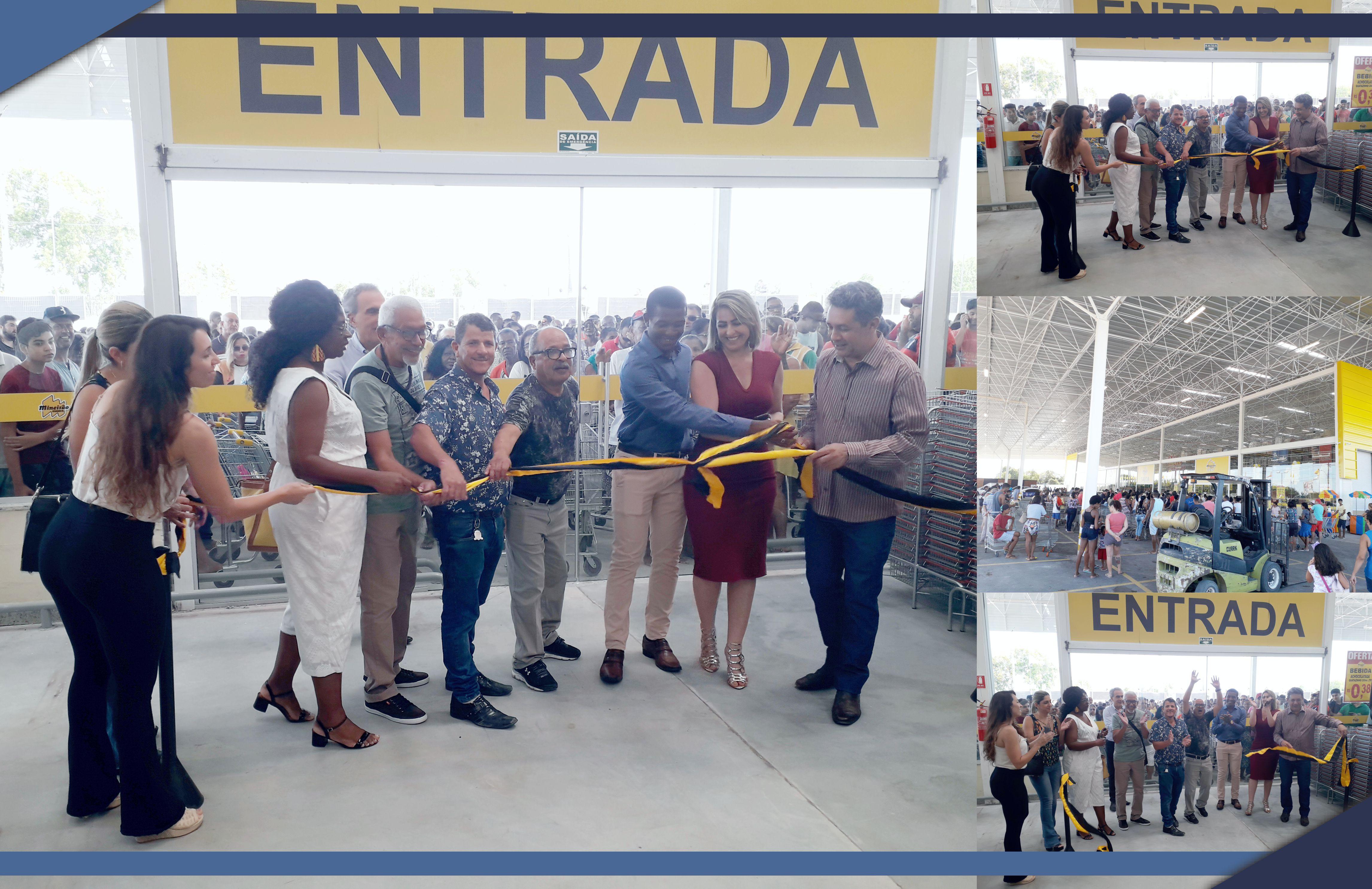 Empresa de MG inaugura unidade e mostra confiança no futuro de São Mateus