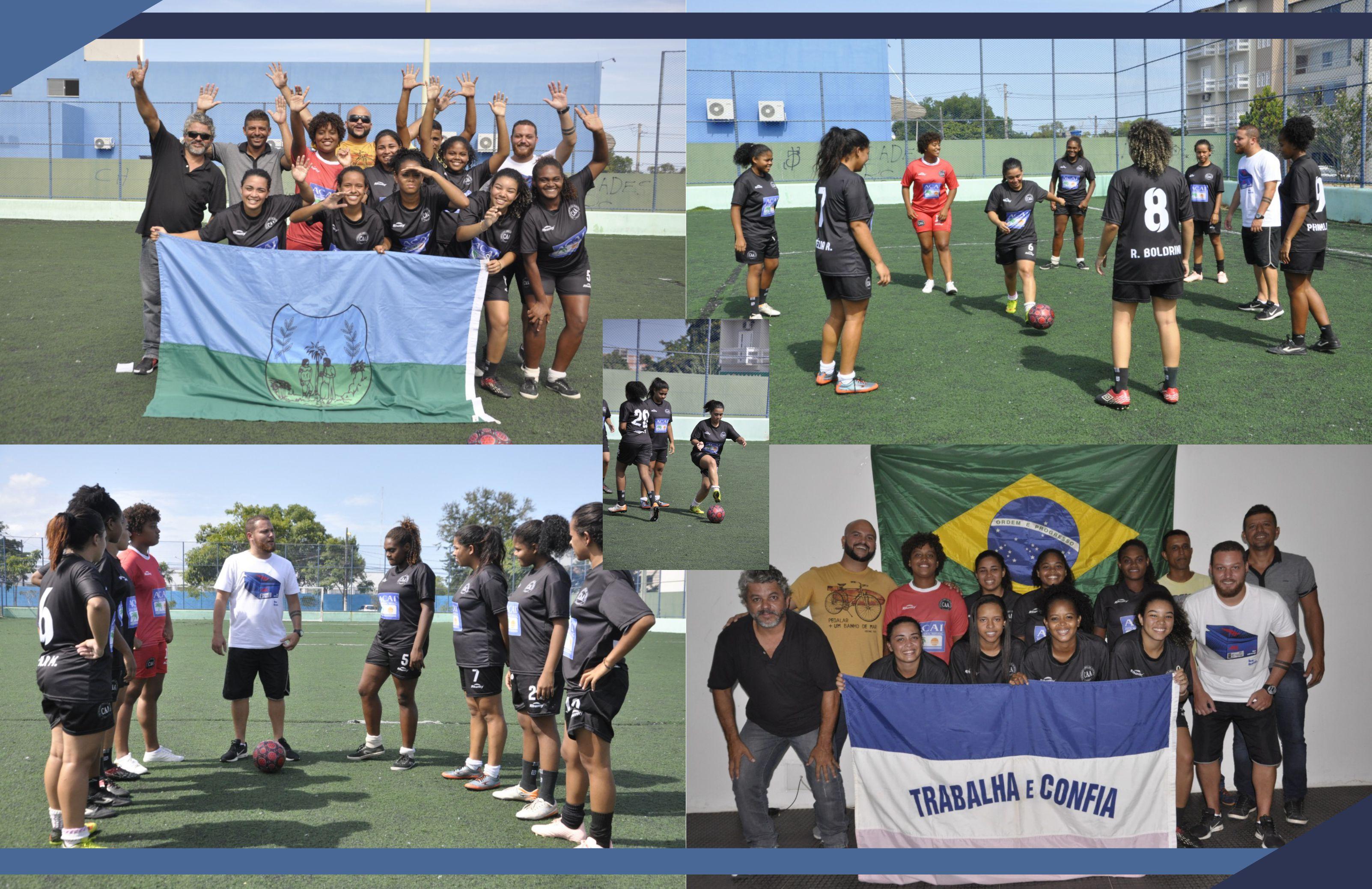 São Mateus é o Espírito Santo no Brasileiro de Futebol Feminino