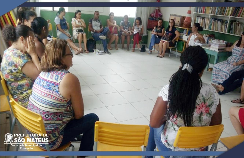 PROFESSORES DA EDUCAÇÃO INFANTIL REALIZAM JORNADA DE PLANEJAMENTO