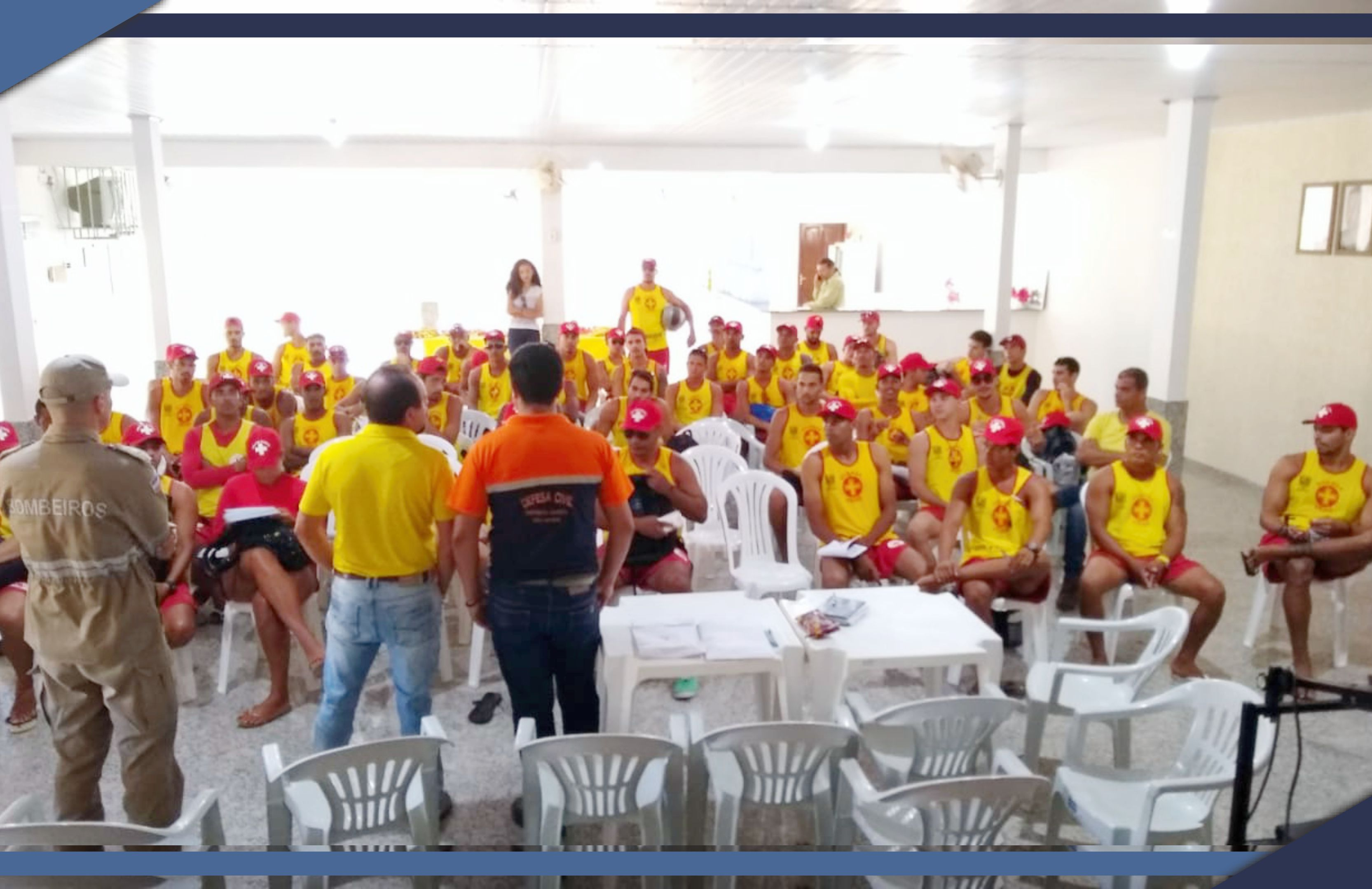 Guarda-Vidas participam de Cerimônia de Posse