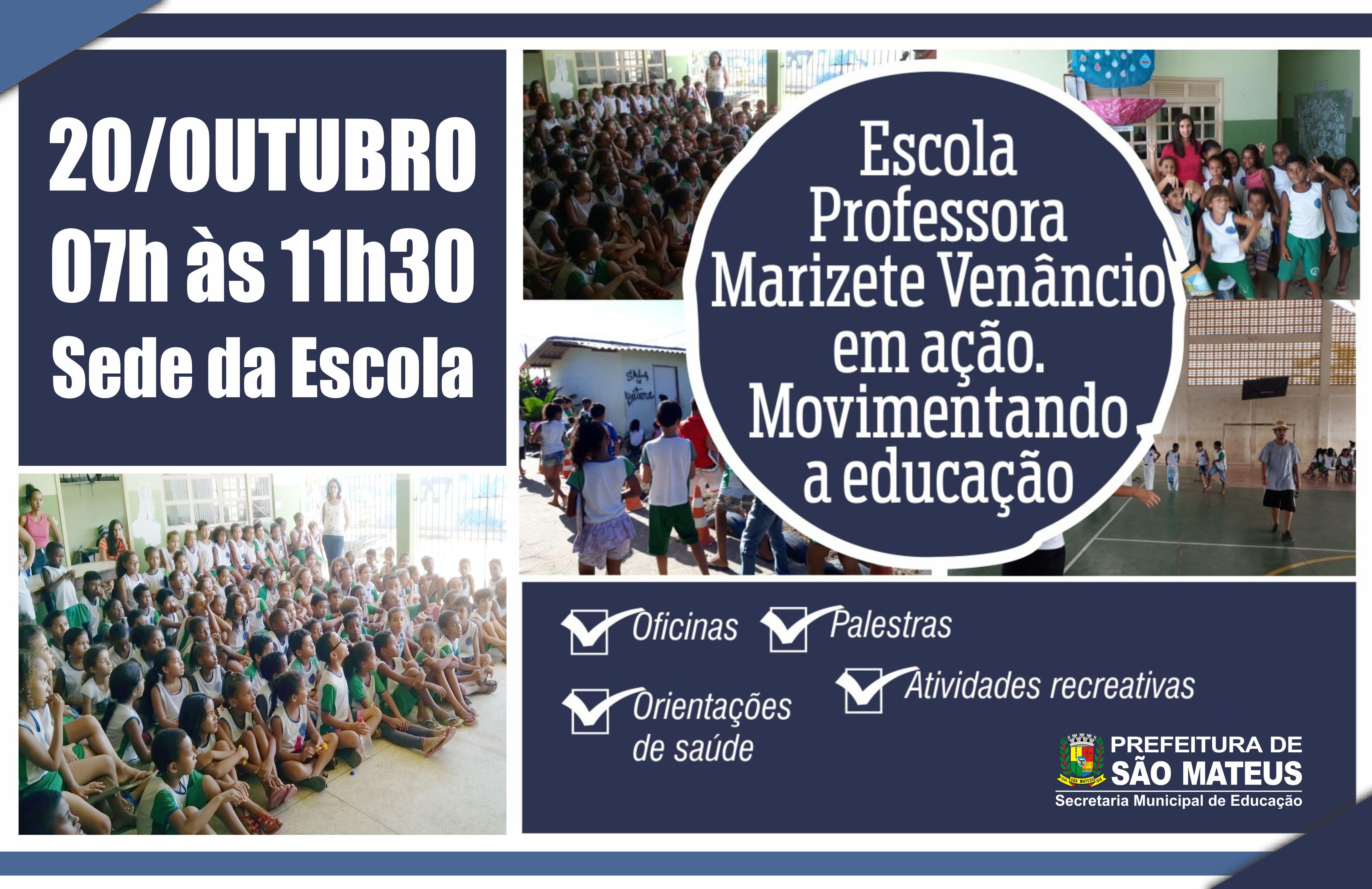 Escola Professora Marizete Venâncio realiza Ação Cidadã no Bairro Aroeira