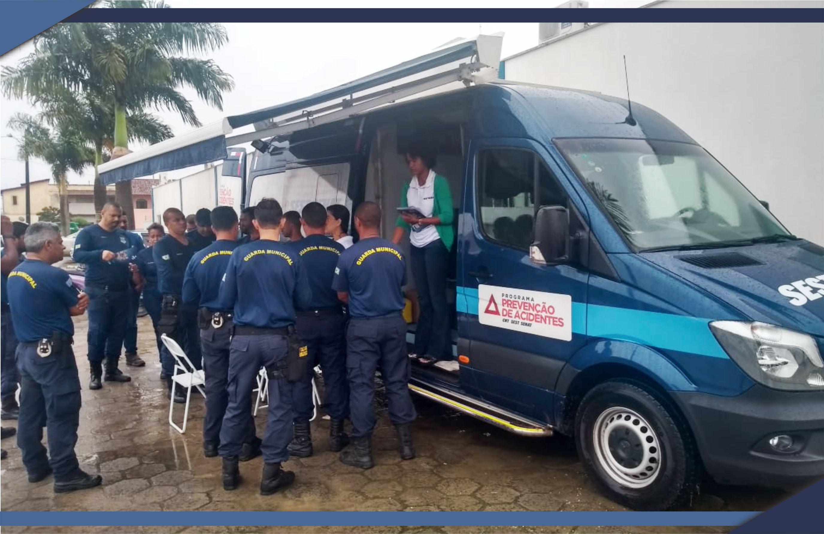 Servidores da PMSM participam de Programa de Prevenção de Acidentes
