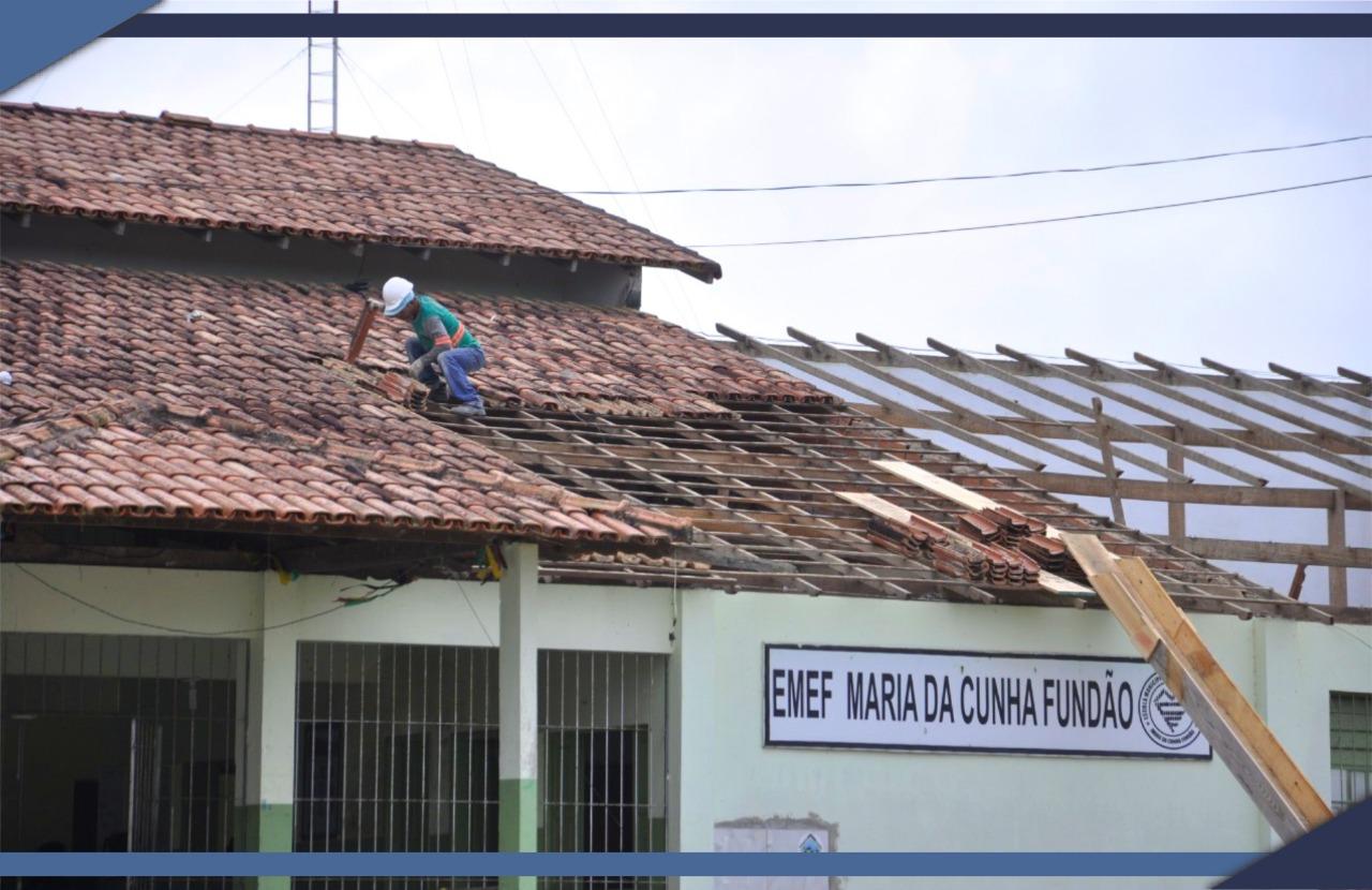 PREFEITURA DE SÃO MATEUS REFORMA ESCOLA NO BAIRRO SEAC