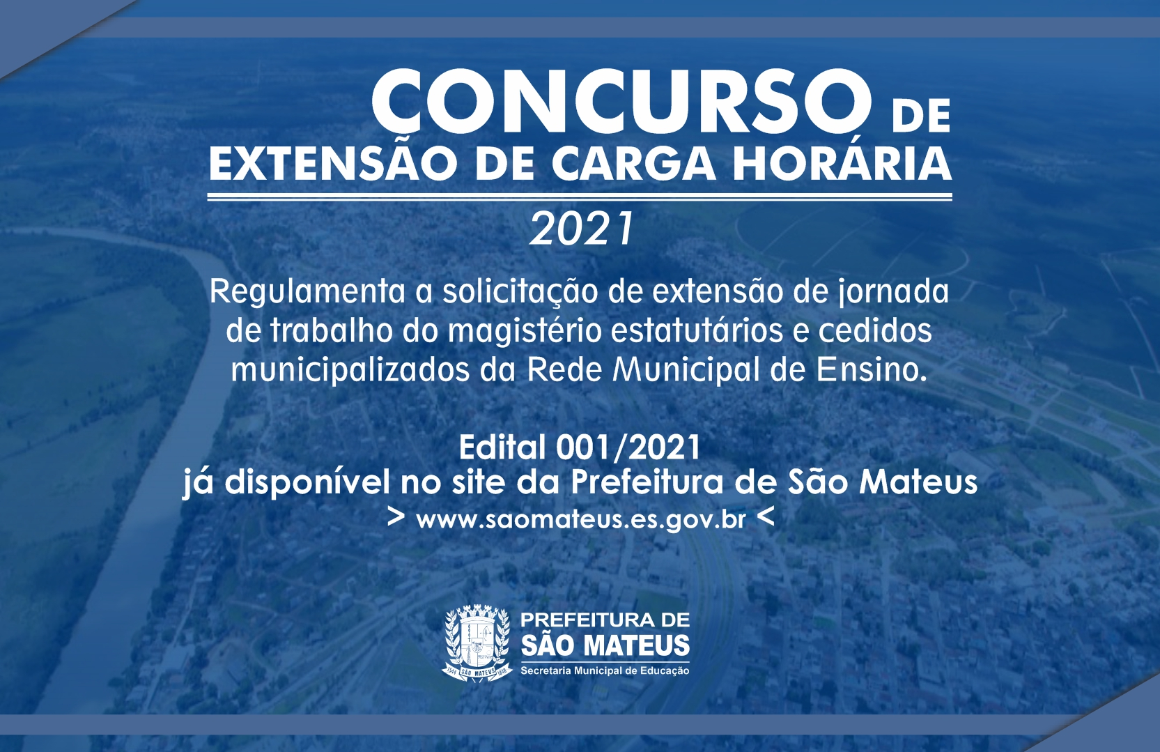 CONCURSO DE EXTENSÃO DE CARGA HORÁRIA 2021