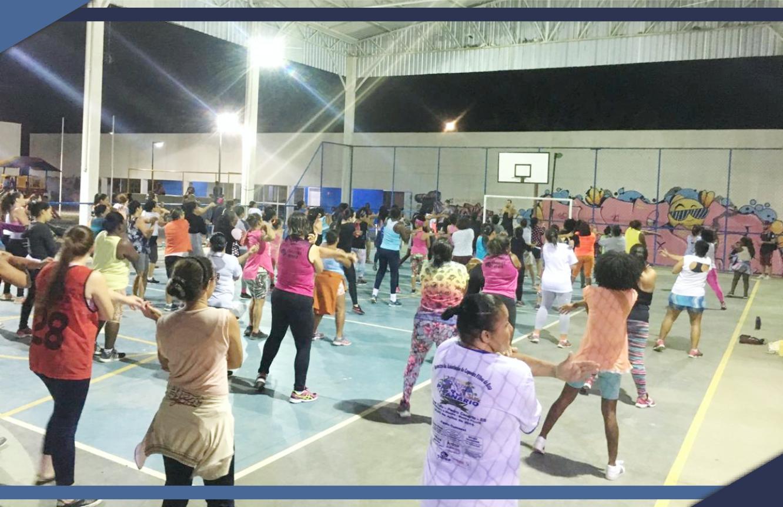 PREFEITURA MANTÉM ESPAÇO DE LAZER PARA TODA A FAMÍLIA NA PERIFERIA