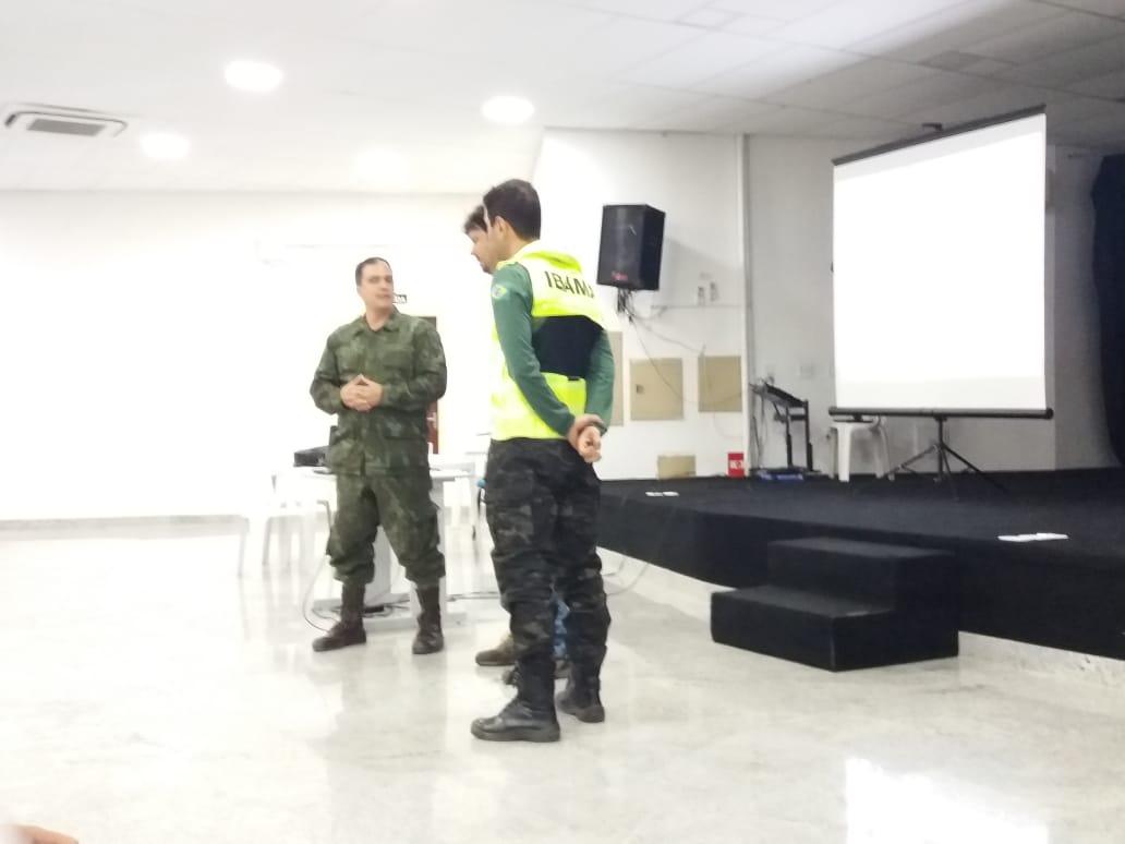 CAPACITAÇÃO PARA MANEJO DE ÓLEO EM SÃO MATEUS