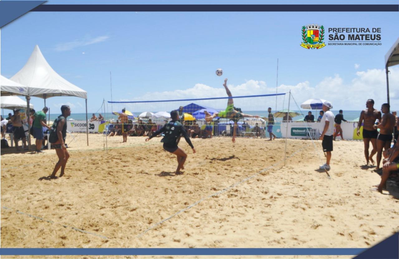 PMSM promove Jogos de Verão em Guriri durante o Verão