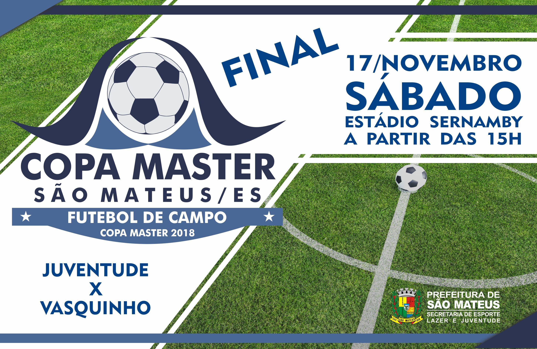 Final da Copa Master 2018 tem nova data