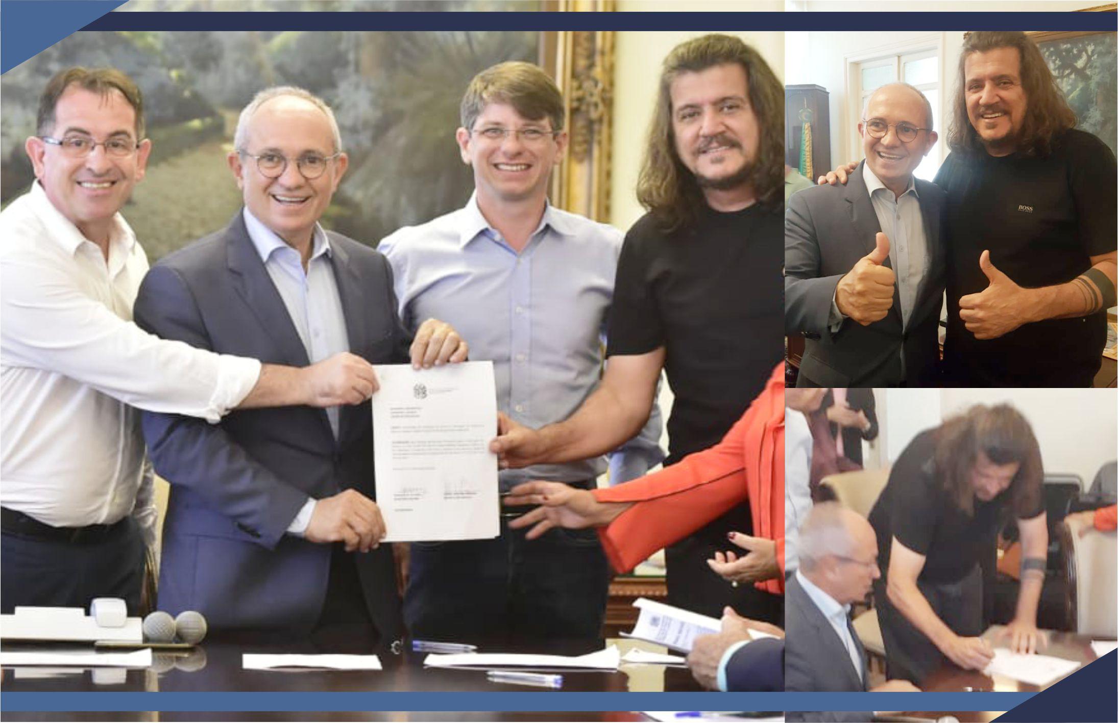 Paulo Hartung e Daniel assinam convênios de R$ 5,6 milhões