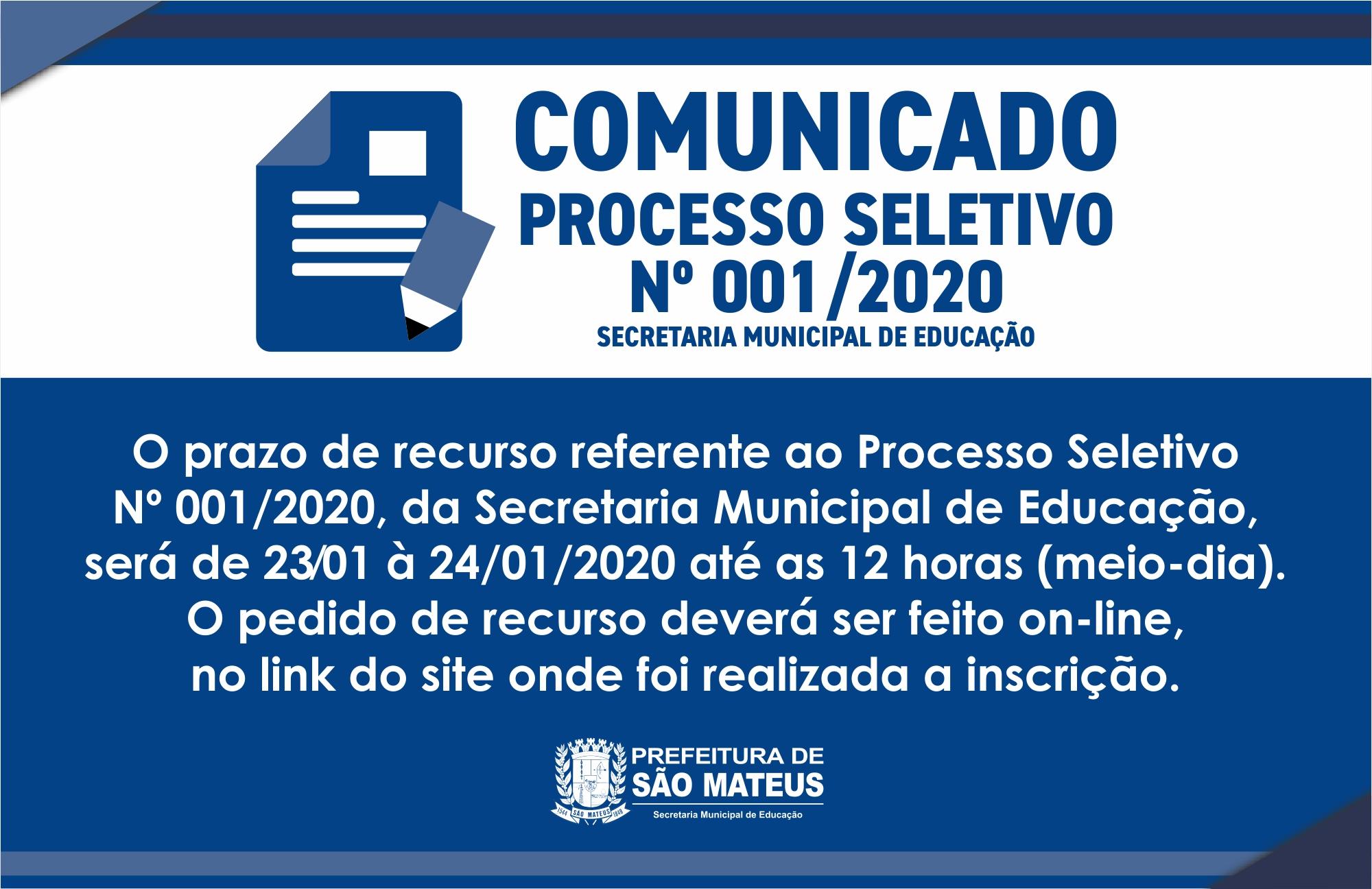 COMUNICADO - SECRETARIA DE EDUCAÇÃO