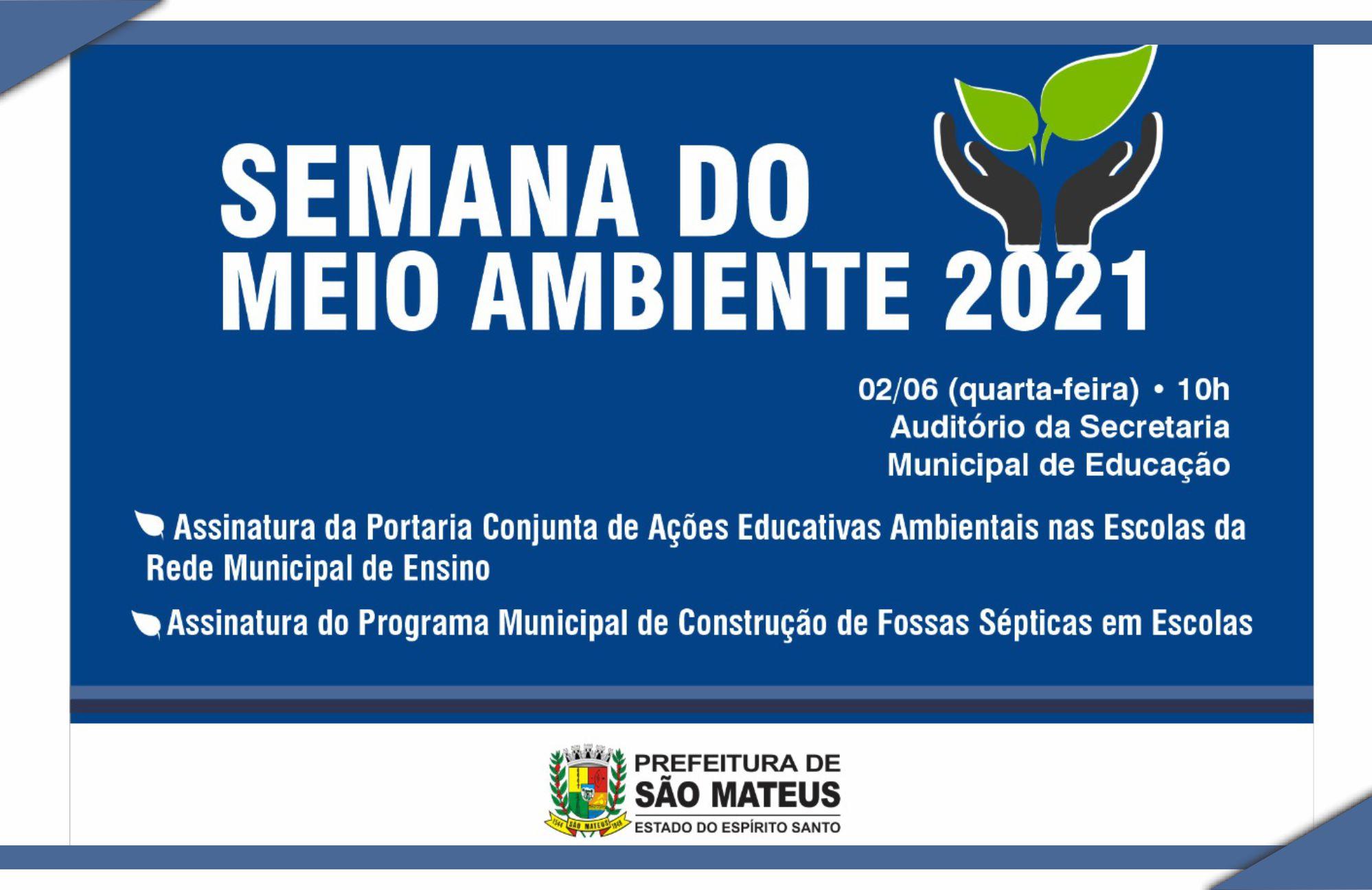 PREFEITURA COMEMORA DIA MUNDIAL DO MEIO AMBIENTE COM IMPLANTAÇÃO DE PROGRAMAS AMBIENTAIS