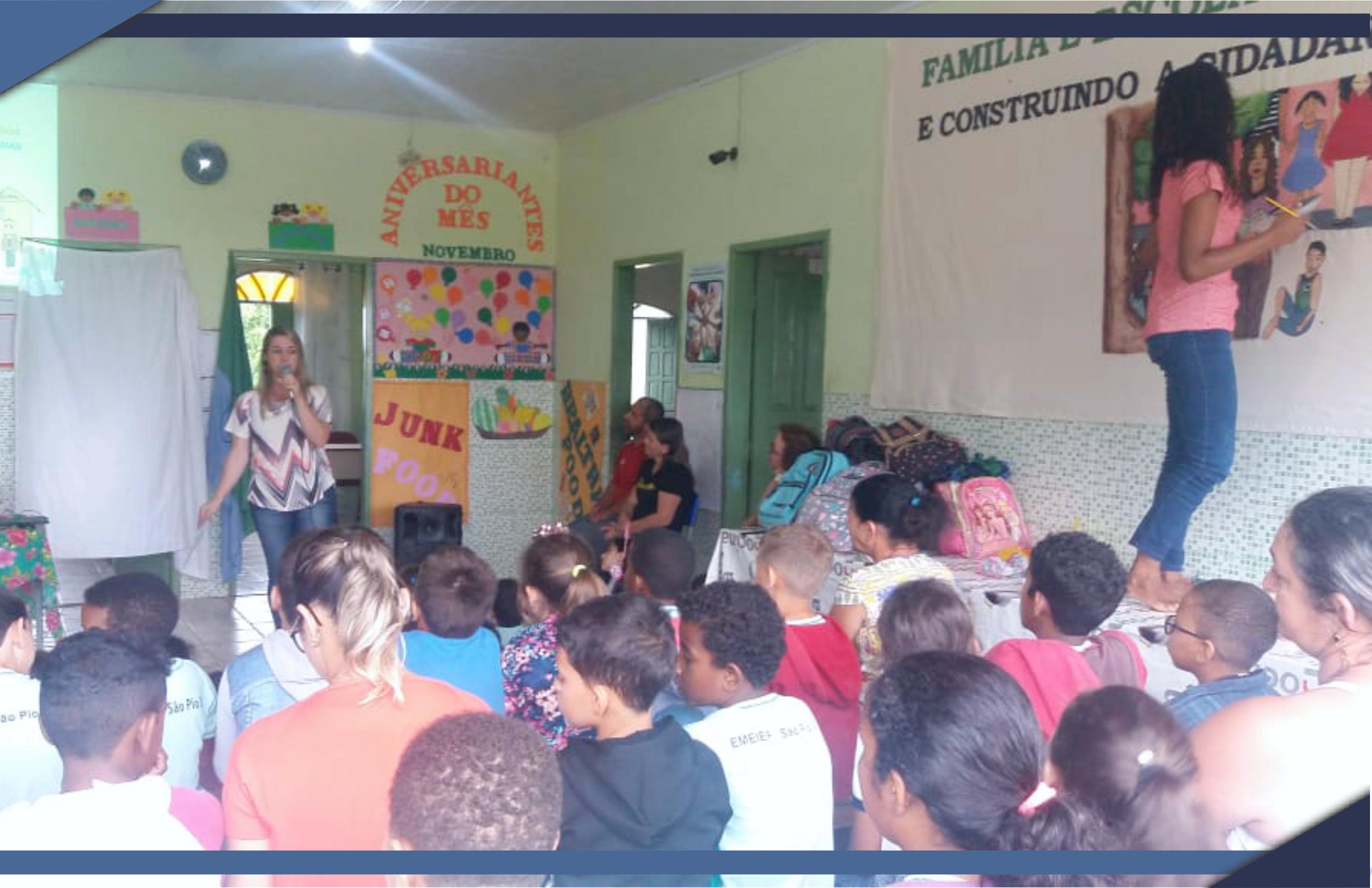 EMEIEF de Córrego da Palmeira realiza Semana da Família na Escola