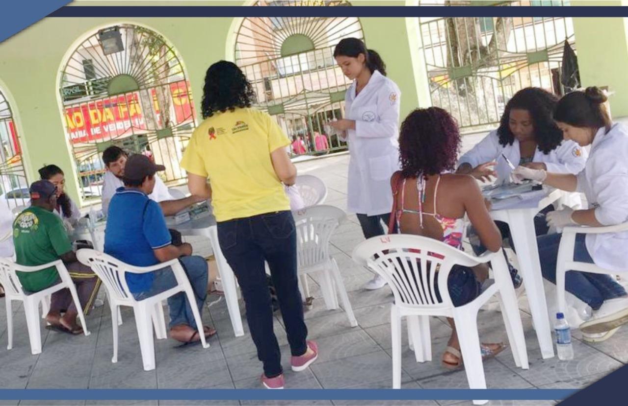 PREFEITURA REALIZA AÇÃO DE SAÚDE NO BAIRRO VILLAGE